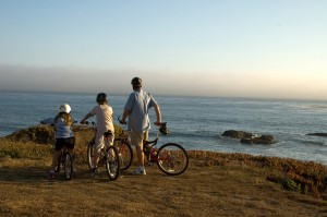 biking as a family